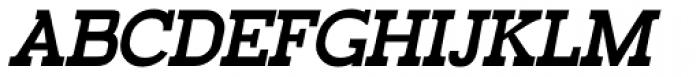 Railham Bold Italic Font UPPERCASE