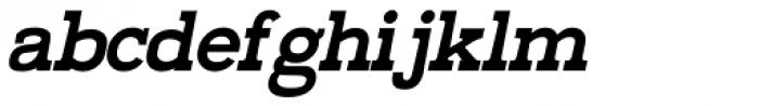 Railham Bold Italic Font LOWERCASE