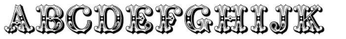 Railhead Redux Font UPPERCASE