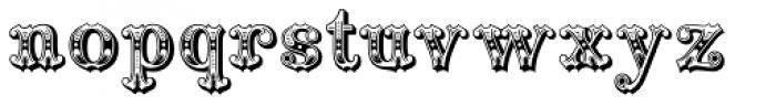Railhead Redux Font LOWERCASE