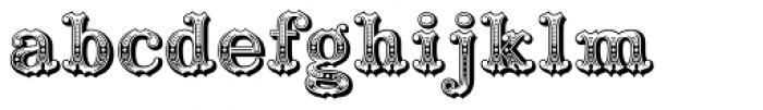Railhead Font LOWERCASE