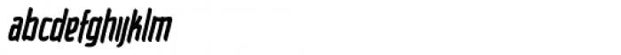 Raimoo Heavy Font LOWERCASE
