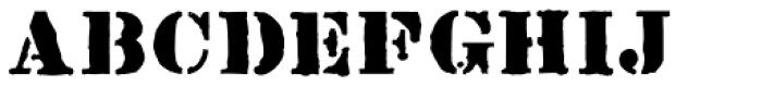 Rainmaker Font UPPERCASE