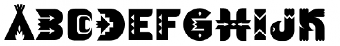 Rainsong Font UPPERCASE