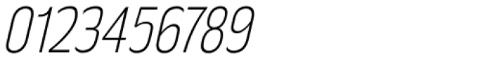 Rakesly ExtraLight Italic Font OTHER CHARS