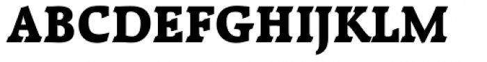 Raleigh ExtraBold Font UPPERCASE