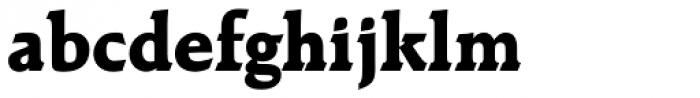 Raleigh ExtraBold Font LOWERCASE