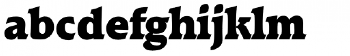 Raleigh Serial Black Font LOWERCASE