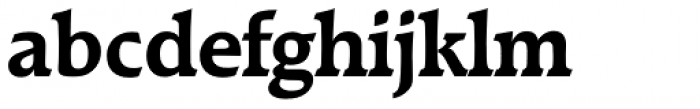 Raleigh Serial Bold Font LOWERCASE