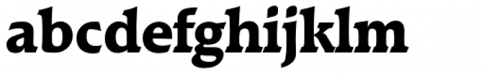 Raleigh Serial ExtraBold Font LOWERCASE