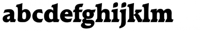 Raleigh Serial Heavy Font LOWERCASE