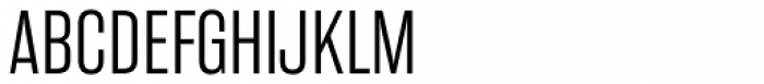 Rama Gothic Exp Light Font UPPERCASE