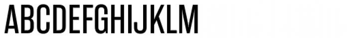 Rama Gothic Exp Font UPPERCASE
