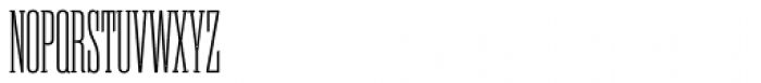 Rama Slab Cond Light Font UPPERCASE