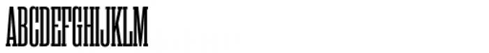 Rama Slab Condensed Semibold Font UPPERCASE