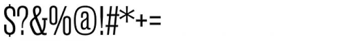 Rama Slab Exp Light Font OTHER CHARS