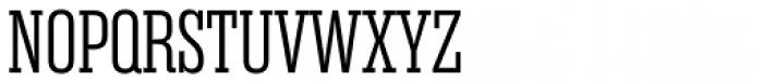Rama Slab Exp Light Font UPPERCASE