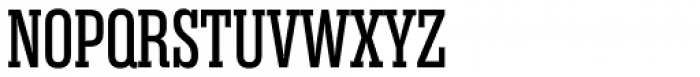 Rama Slab Expanded Regular Font UPPERCASE