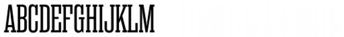 Rama Slab Regular Font UPPERCASE