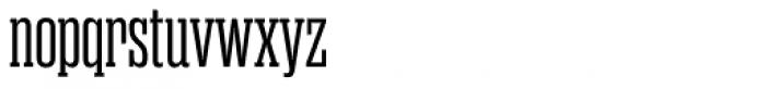Rama Slab Regular Font LOWERCASE