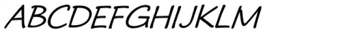 Ramadesh Caps Oblique Font LOWERCASE