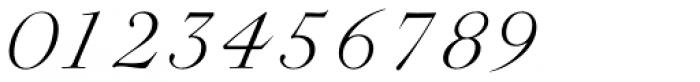 Rameau Std Light Italic Font OTHER CHARS
