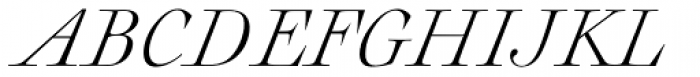 Rameau Std Light Italic Font UPPERCASE