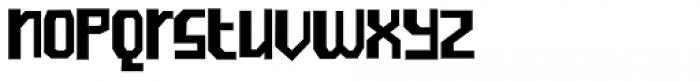 Ramones Regular Font LOWERCASE
