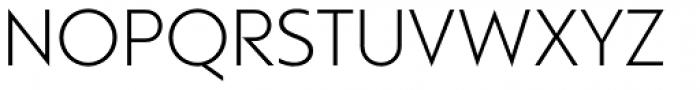 Rams Light Font UPPERCASE