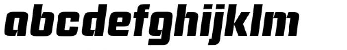 Ramsey Bold Italic Font LOWERCASE