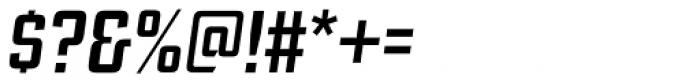 Ramsey Condensed Medium Italic Font OTHER CHARS
