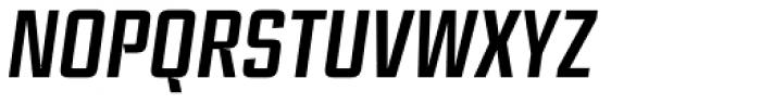 Ramsey Condensed Medium Italic Font UPPERCASE