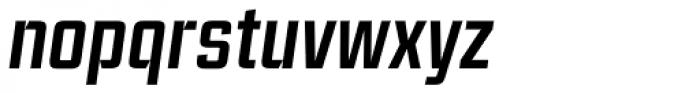 Ramsey Condensed Medium Italic Font LOWERCASE
