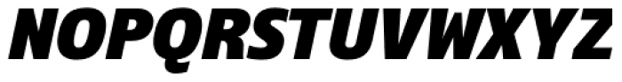 Ramston Bold Italic Font UPPERCASE