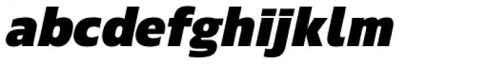 Ramston Bold Italic Font LOWERCASE