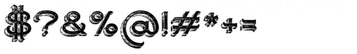 Ranch Vintage Regular Font OTHER CHARS
