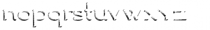 Ranch Vintage Shadow Font LOWERCASE