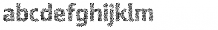 Ranelte Deco Dot Bold Font LOWERCASE