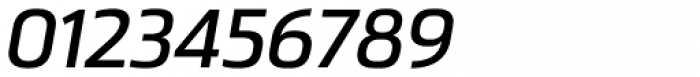 Ranelte Extended Demi Italic Font OTHER CHARS