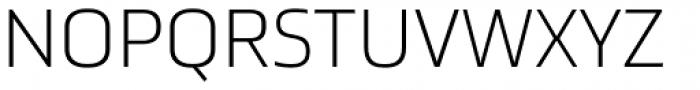 Ranelte Extended Light Font UPPERCASE