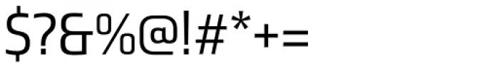 Ranelte Normal Regular Font OTHER CHARS