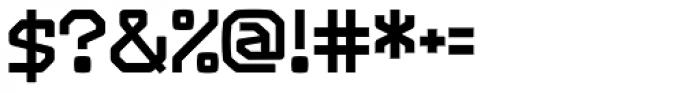 Range Bold Font OTHER CHARS