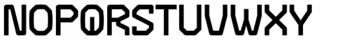 Range Bold Font UPPERCASE