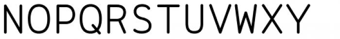 Range Mono Font UPPERCASE