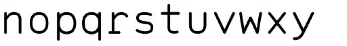 Range Mono Font LOWERCASE