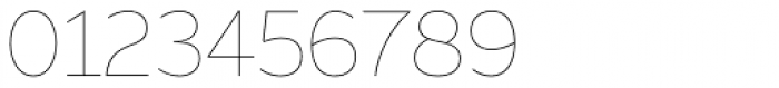 Range Sans Ultra Light Font OTHER CHARS