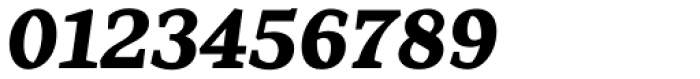 Range Serif Black Italic Font OTHER CHARS