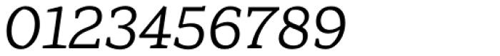 Range Serif Italic Font OTHER CHARS