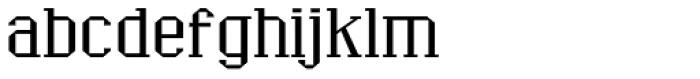 Ranger Wide Font LOWERCASE