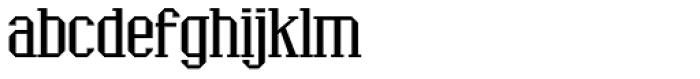 Ranger Font LOWERCASE